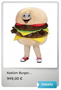 Burger-Kostüm-234s