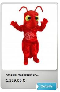 Ameisen-Kostüme