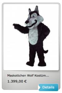 Wolf-Lauffigur