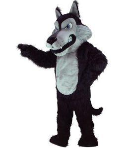 Wolf-Maskottchen-
