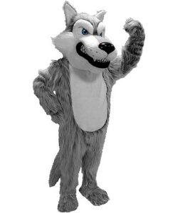 Wolf-Maskottchen-Kostüm