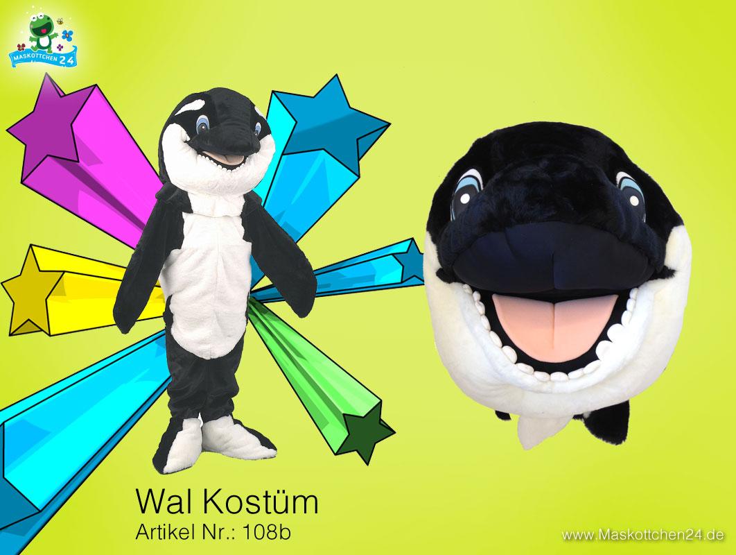 das orka ganzk rper kost m 108b f r erwachsene ist maskottchen des tages kost m. Black Bedroom Furniture Sets. Home Design Ideas